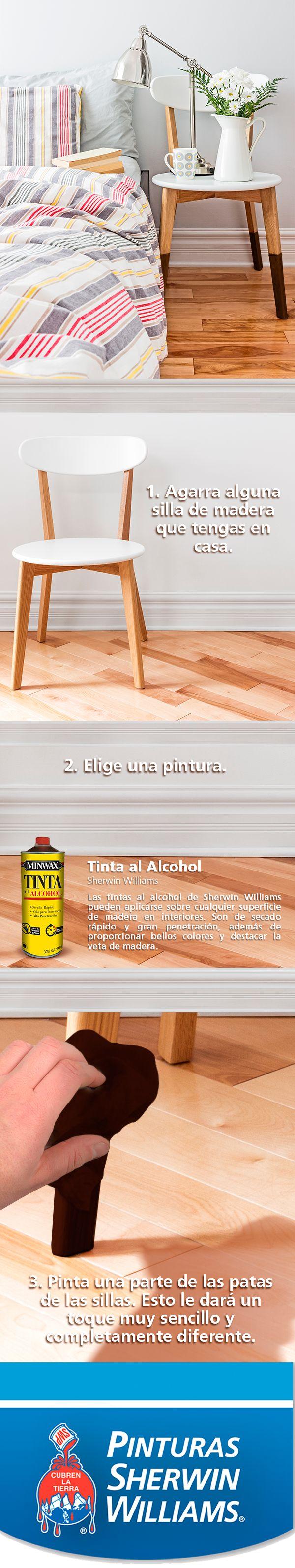 ¡Sé práctico(a)! Dales un toque diferente a tus sillas con este sencillo tip. #EstoPintaBien