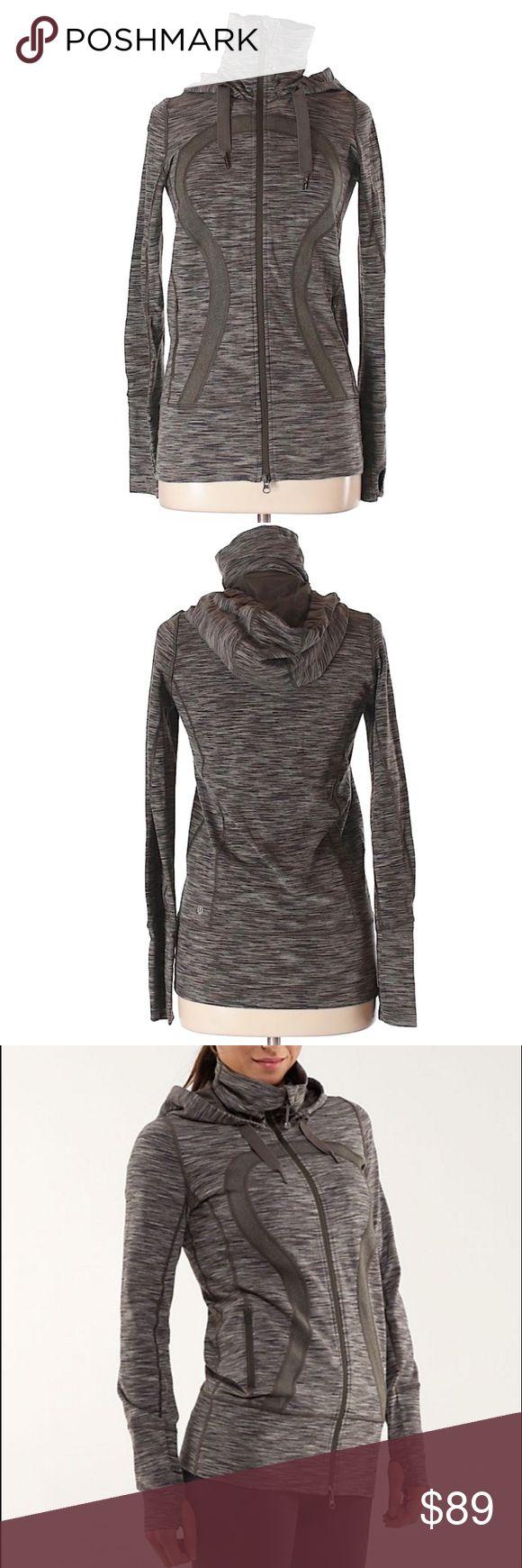 Lululemon Space Dye Wren Stride Hoodie Jacket Very nice condition. Last photo is stock. lululemon athletica Tops Sweatshirts & Hoodies