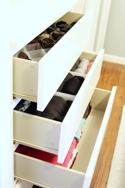 Drawer and closet organization inspiration and how to