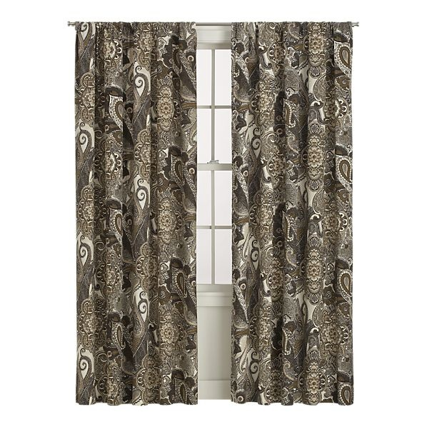 Paisley curtains