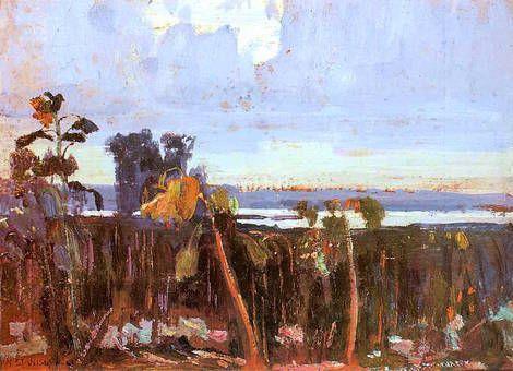 Jan Stanislawski, Sloneczniki / Sunflowers on ArtStack #jan-stanislawski #art