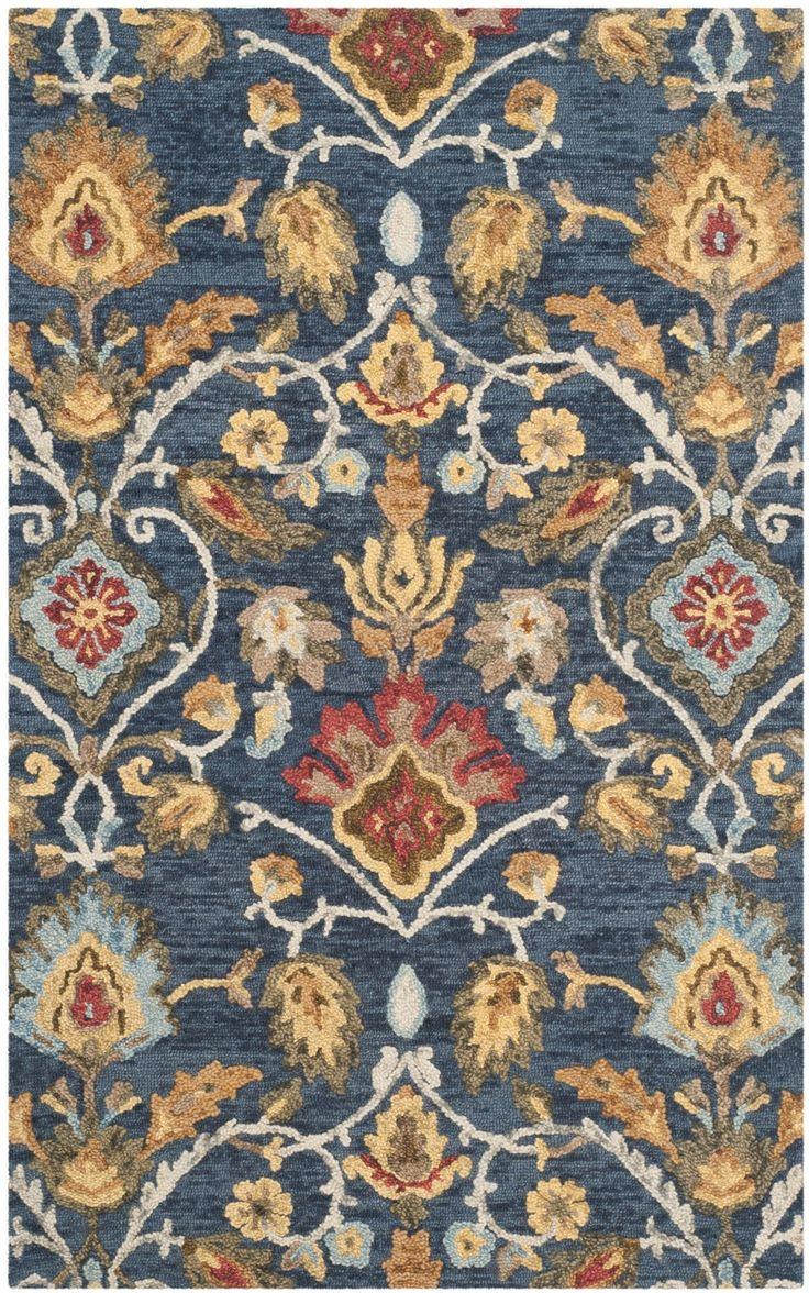 Elford Hand Tufted Wool Multicolor Area Rug In 2019 Rugs