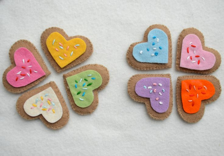 felt cookies: Cuteness, Crafts Ideas, Bolachinha De, Crafts Stitches, Felts, Felt Cookies, Felt Tutorials, Belt Bags, Copy