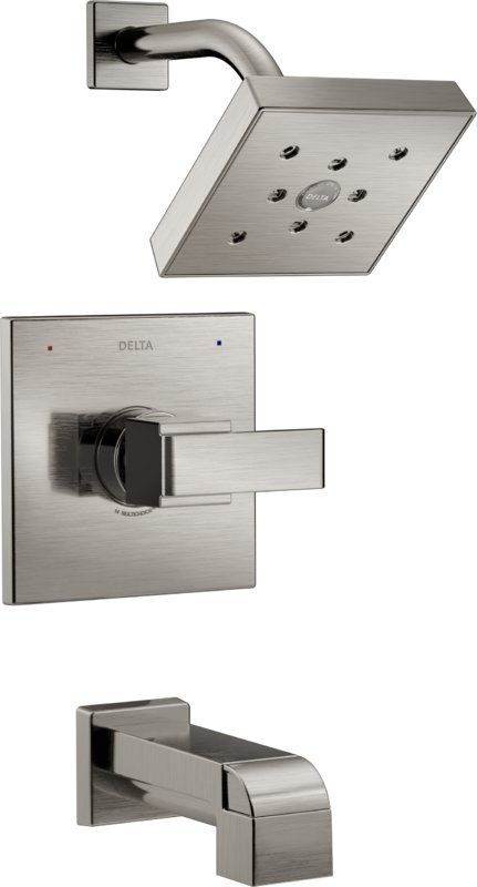 253.33-DELTA BRILLIANCE STAINLESS Ara Tub and Shower Trim with Lever Handle and Monitor