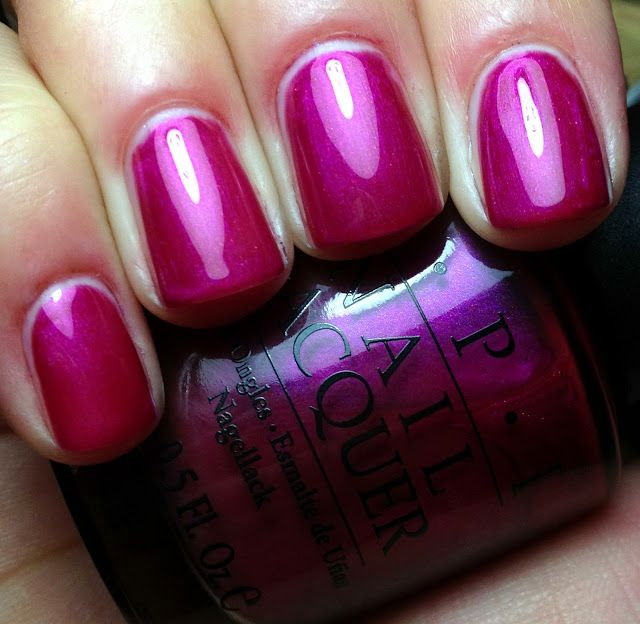 OPI Jewel of India such a pretty magenta color