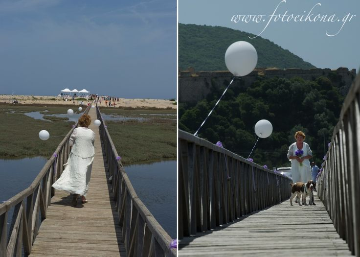 Love never gets old. Wedding photography on a beautiful beach #bridge #Lefkas #Ionian #Greece #wedding #weddingdestination Eikona Lefkada Stavraka Kritikos