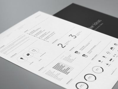 Resume redesign. To show you that interaction design can be applied to almost anything and everything.