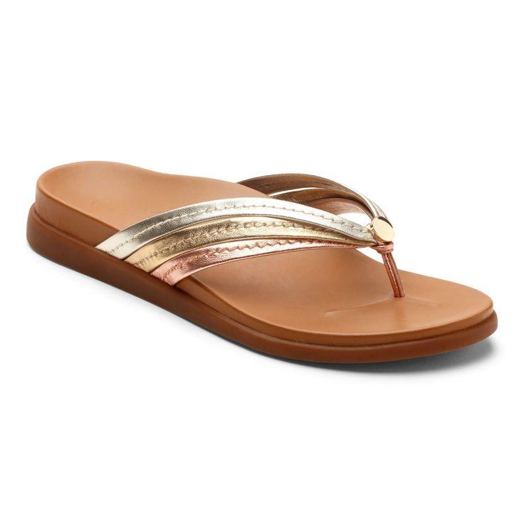Vionic Palm Catalina- Women's Flip Flop Sandal – Free Shipping & Returns