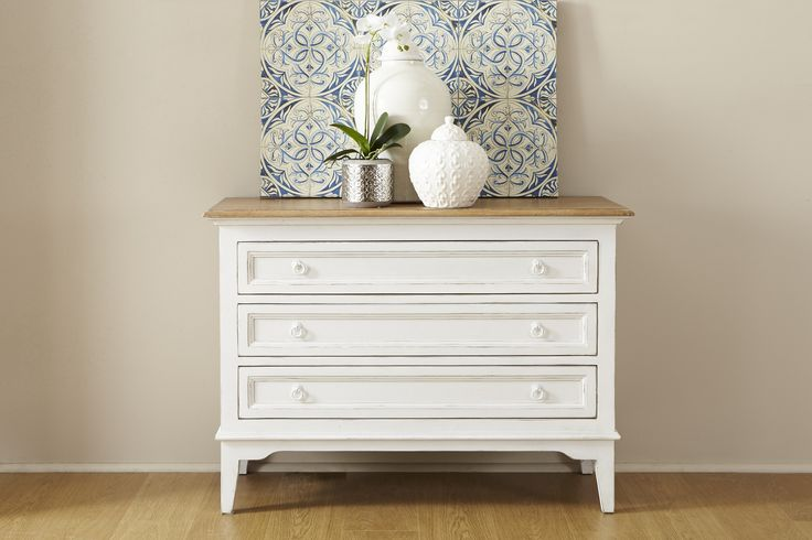 Hamptons 3 drawer chest. Available in store. http://www.shack.com.au/contact-us