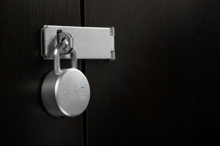 Noke Bluetooth Smart-Lock. Opens with your smartphone to remove the hassle of keys and combinations forever. Consumer Electronics | Geeky | New Tech