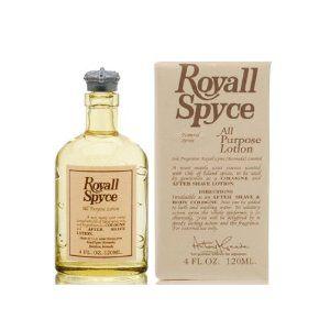 ROYALL SPYCE ACQUA DI COLONIA, 120 ML. Il più misterioso e virile dei profumi nasce da una squisita miscela di olii essenziali uniti ad una fragranza altamente aromatica  speziato,cannella,noce moscata,chiodi di garofano