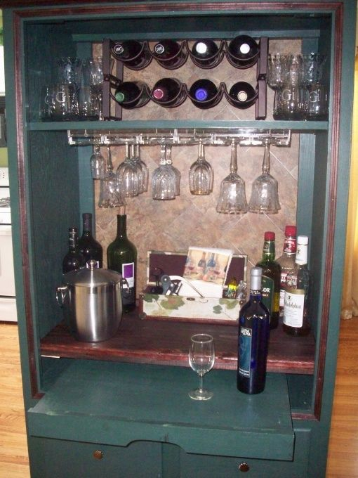 best 25 armoire bar ideas on pinterest tall bar cabinet. Black Bedroom Furniture Sets. Home Design Ideas