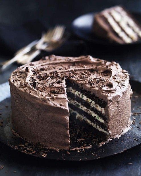 Chocolate and ricotta cake