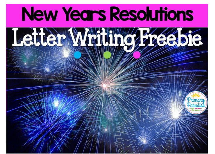 The 25 best letter writing template ideas on pinterest for New years goals template