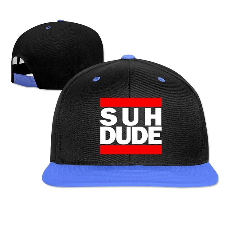 7forever Supreme Baseball Cap Suh Dude Run DMC Style Logo Cheap Hip Hop Cap Made by #7forever Color #Royal Blue. Lightweight / Durable / Smooth. 100% Cotton Made.. Adjustable Buckle Back Closure. Solid Color. Long Lasting Durability