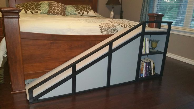 Diy dog ramp for the bed dog steps for bed dog stairs
