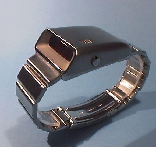 "Girard Perregaux Casquette, a 70's era ""Drivers"" style LED watch."