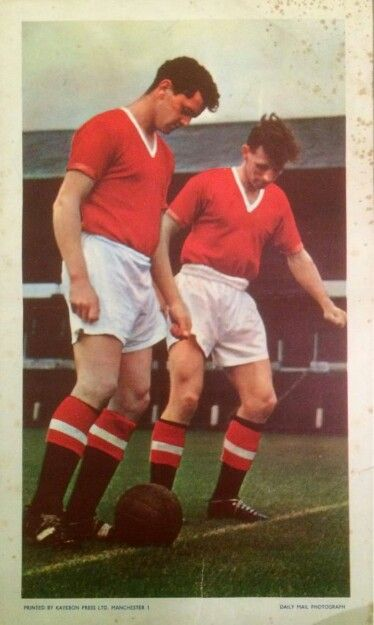 Poster, Taylor & Byrne, Manchester United Football Club.