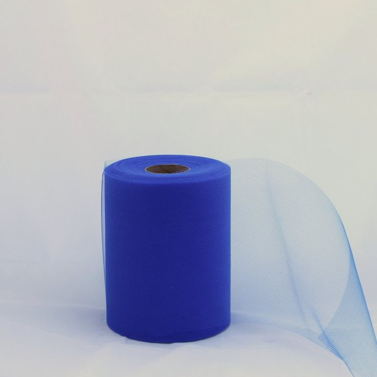Tulle Roll -  Royal Blue tulle roll - 6 inches - 100 yard - Royal Blue rolls -  $4.50