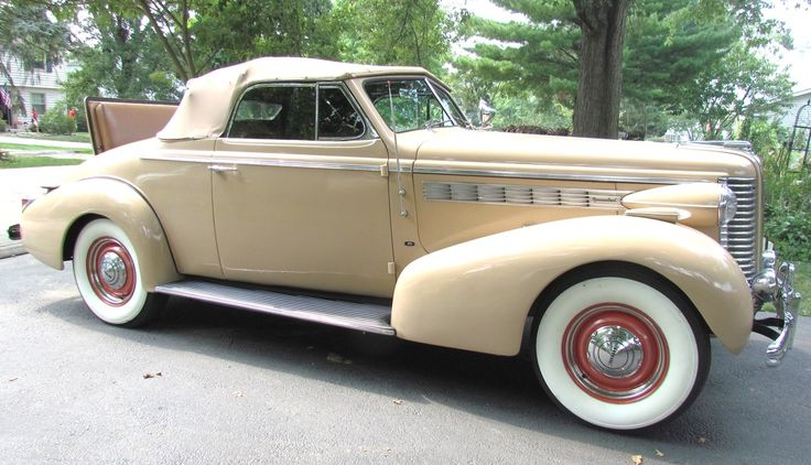 Buick special 1938 rumble seat convertible coup 39 sleek for 1938 oldsmobile 4 door for sale