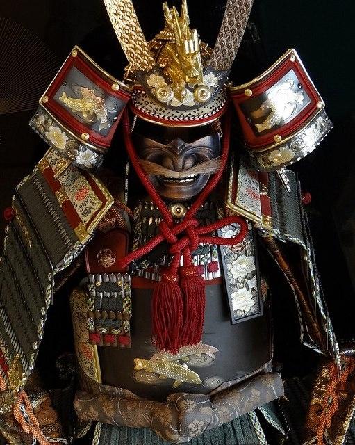 a sabedoria dos samurais não estão nas suas armaduras, mas no interior delas.
