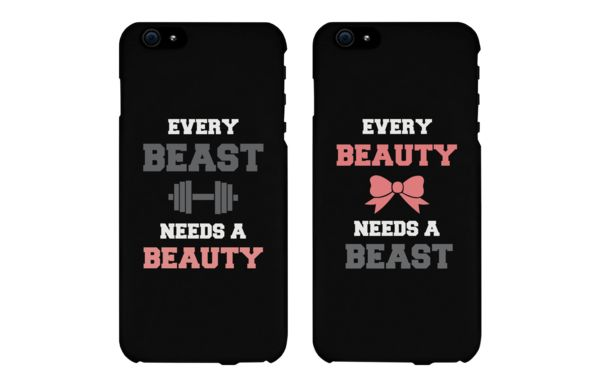 Every Beast Needs a Beauty Couple Phone Cases for iPhone 4, iPhone 4S, iPhone 5S, iPhone 5C, iPhone 6, iPhone 6 Plus, Galaxy S3, Galaxy S4, Galaxy S5, HTC M8, and LG G3