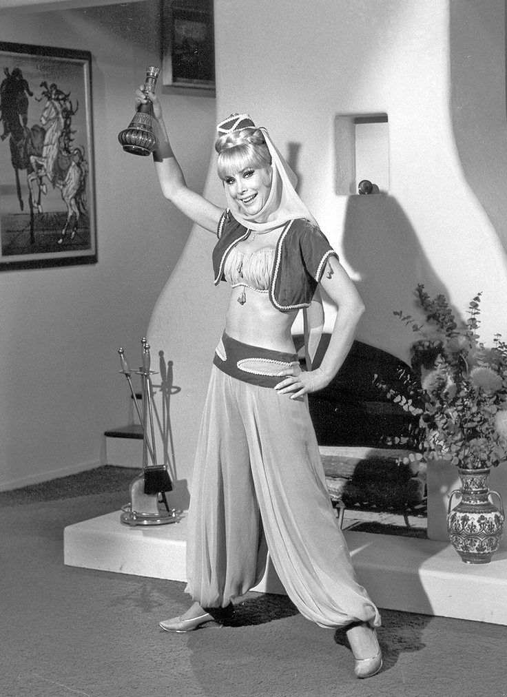 Barbara Eden in I Dream of Jeannie (1965-70, NBC)