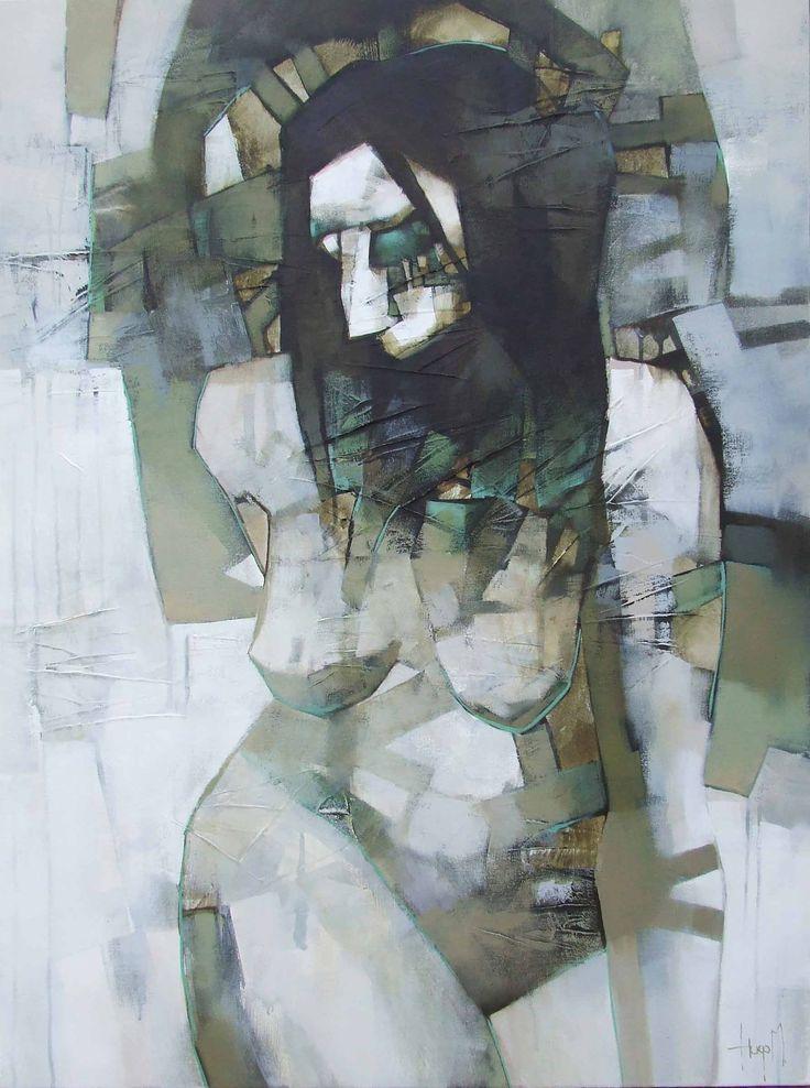 Hugo Maritz - Witches! we love Hugo's use of Cubism.