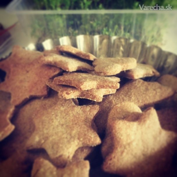 Zázvorovo-ražné sušienky