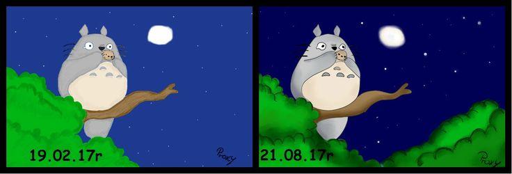 #Totoro #redraw#progress