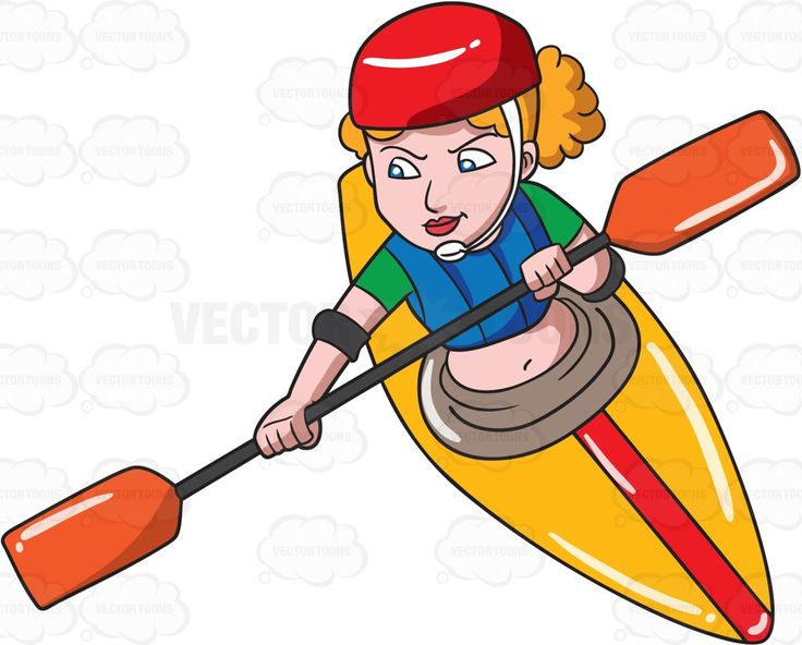 free clipart kayak paddle - photo #41