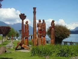 monumento mapuche Panguipulli