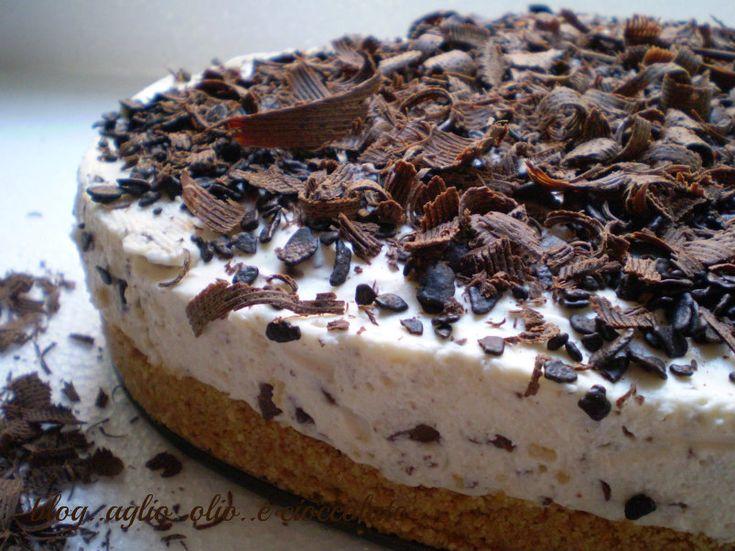 Torta fredda allo yogurt ..tipo cheesecake  http://blog.giallozafferano.it/rocococo/torta-fredda-allo-yogurt-tipo-cheesecake/
