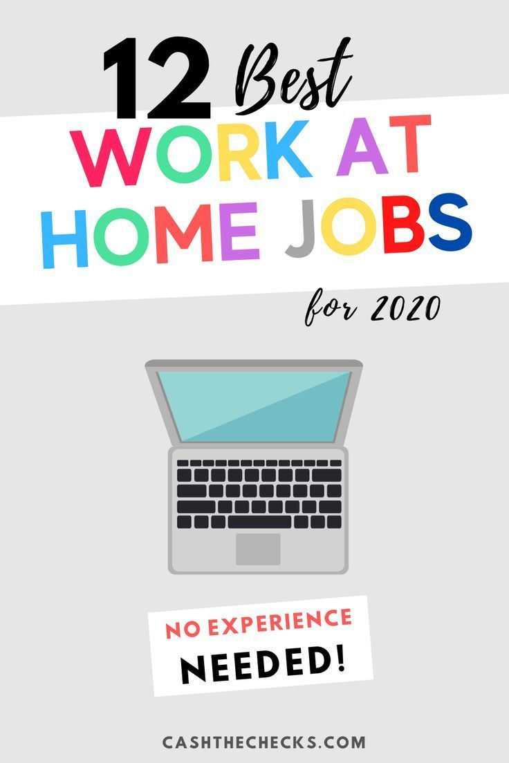 12 Best Legit Work From Home Jobs For 2020 No Experience Needed In 2020 Work From Home Jobs Legit Work From Home Work From Home Opportunities
