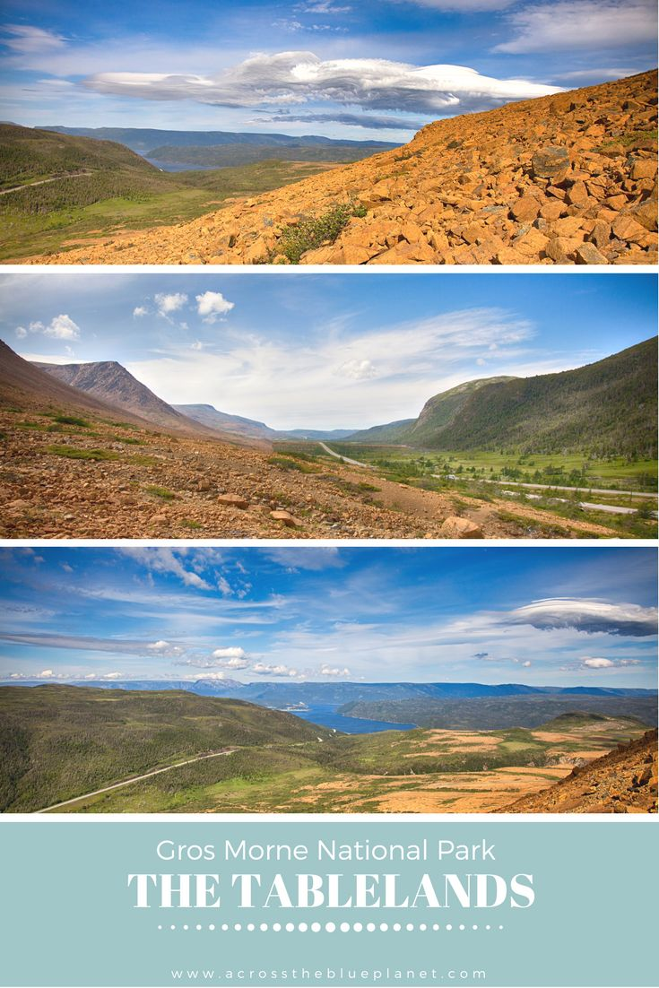Hiking the Tablelands in Gros Morne National Park - Newfoundland, Canada.   #thetablelands #grosmorne #newfoundland #canada #hikingnewfoundland