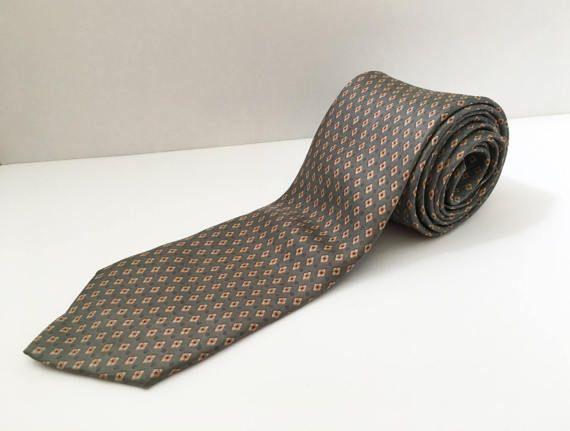 Cravatta vintage in seta