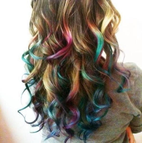 'Chalked Hair :)'