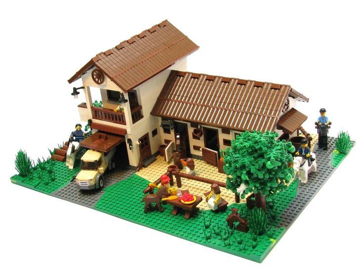 13 Best Lego Houses Images On Pinterest Lego House Lego
