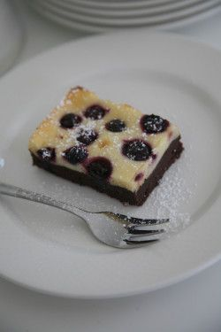 Blueberry Cheesecake Brownie