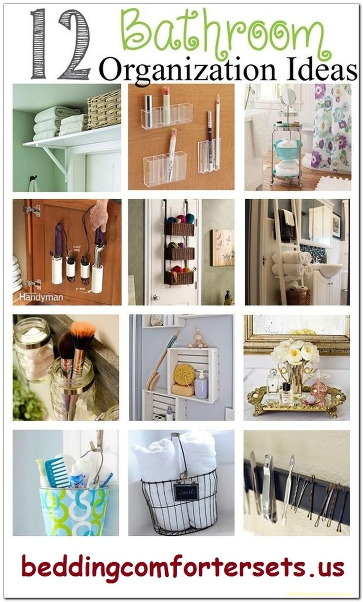 12 Bathroom Organization Ideas