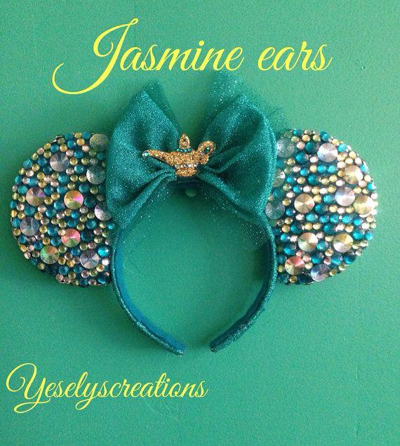 Omg! Jasmine Mickey ears!