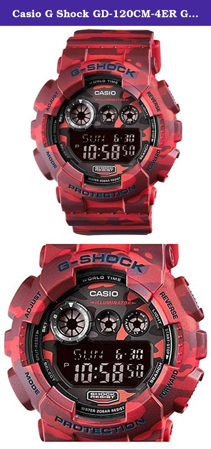 Casio G Shock GD-120CM-4ER G-Shock Uhr Watch Montre Camo Pack limited Edition. Casio G-Shock GD-120CM-4ER - Men's Watch.