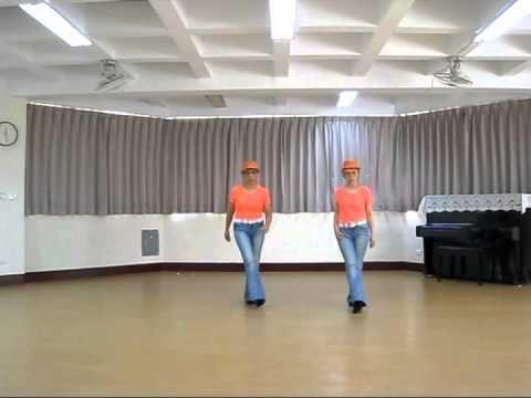 ▶ TANGO BURLESQUE Line Dance - YouTube