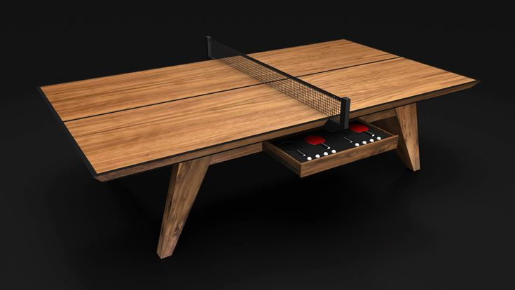 Trigon Convertible Pool Table Dining Table Combo Luxury Modern