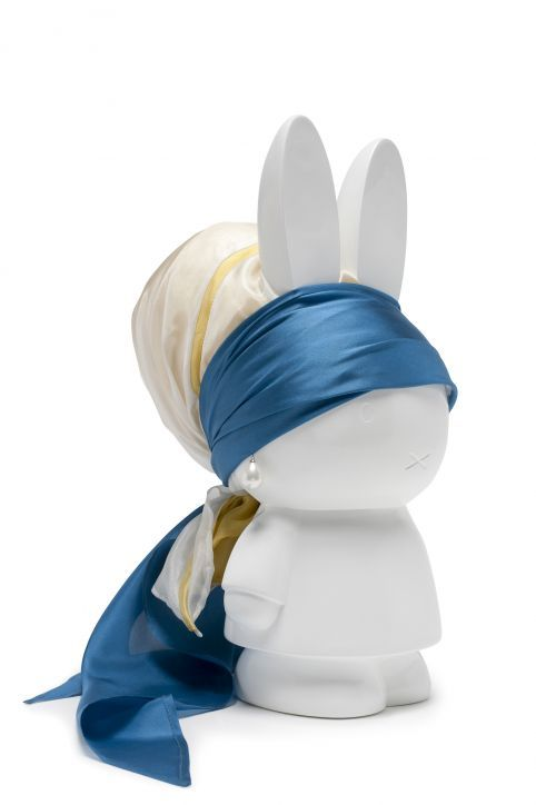 Nijntje with a Pearl Earring - i-did fashion for Dick Bruna exhibition at the Centraal Museum Utrecht