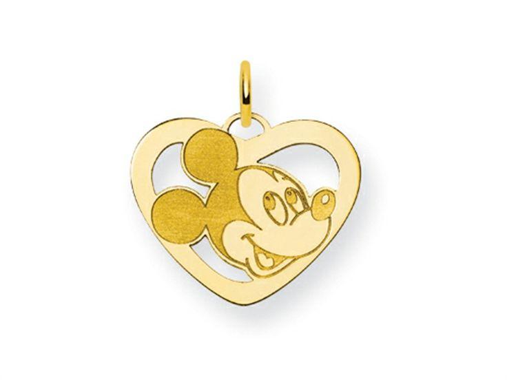 Disney Mickey Heart Charm