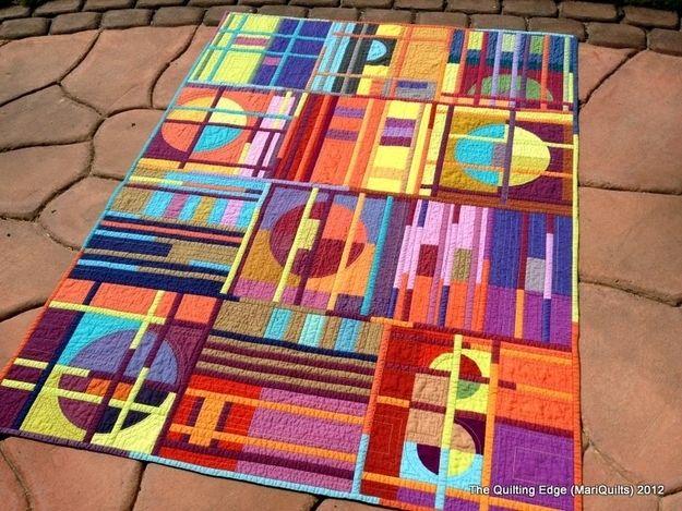 3. Color Shot Quilt