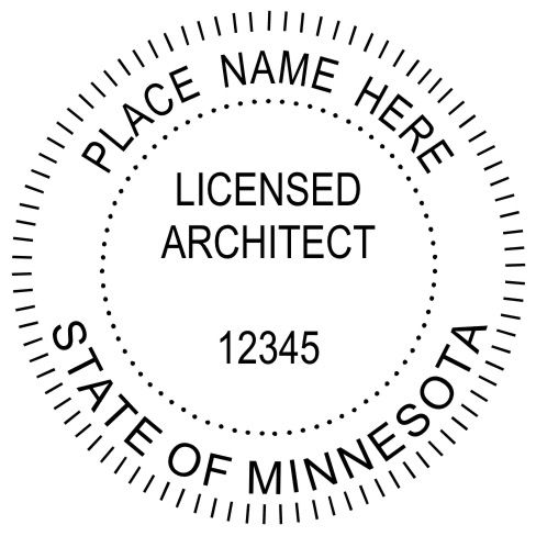 Although The Plan Stamp Is Typically Used For #Minnesota #Architects, We Do  Have