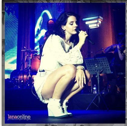 Lana Del Rey in BoPeeps Paradise Tour Europe 2013