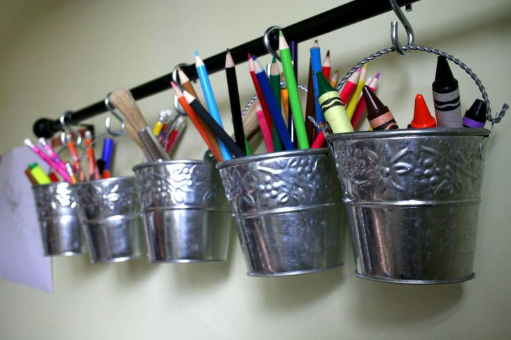 They have similar buckets at Ikea - could be great for kids playroom